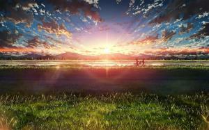 唯美动漫风景高清图片