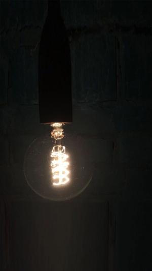 抖音里面个性的灯泡壁纸
