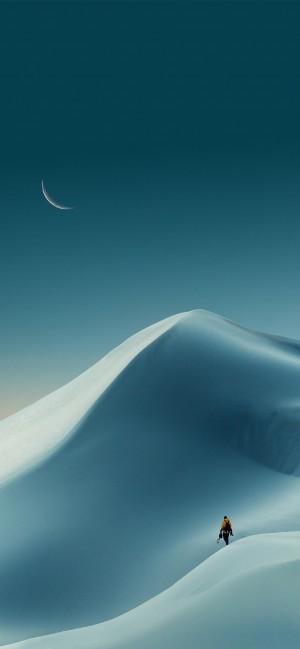 荒凉美感沙漠手机壁纸