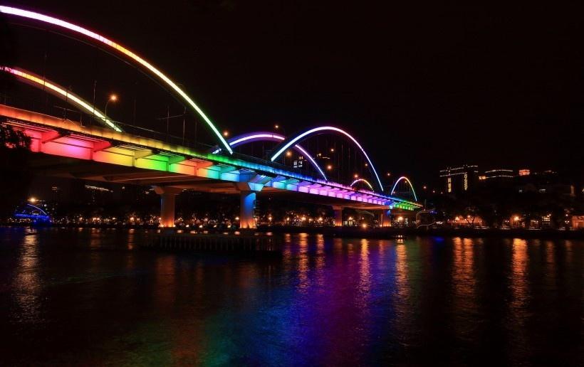 珠江夜景写真
