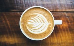 花式咖啡高清电脑桌面壁纸图片