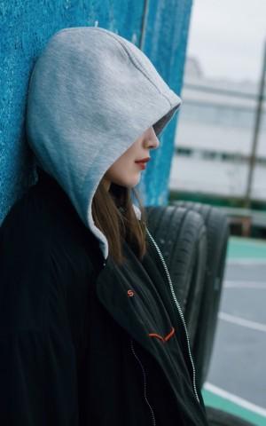菊麟活力少女运动写真图片