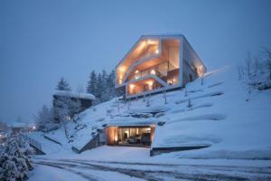 瑞士的现代木屋