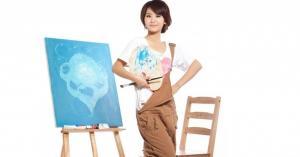甜美教主杨紫青涩写真