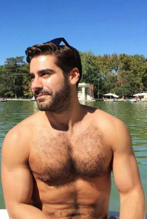 欧美男模壮硕肌肉图片