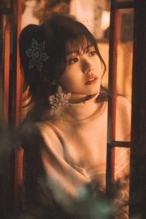 赖美云温暖甜美少女可爱写真图片