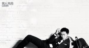 韩庚登《男人风尚》杂志7月刊封面,《变形金刚4》韩庚