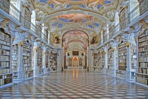 阿德蒙特修道院拥有全世界最大的修道院图书馆