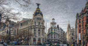 西班牙首都马德里风景图片