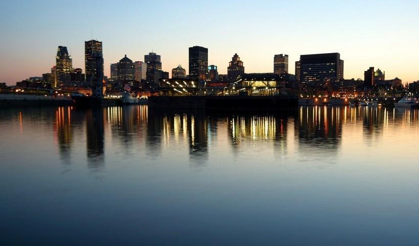 浪漫城市夜景图片