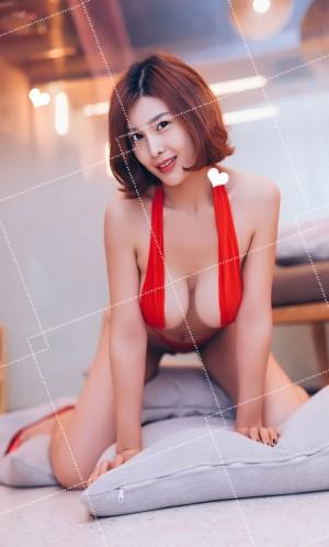 极品尤物闫盼盼浴室红妆写真套图