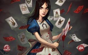 爱丽丝疯狂回归高清桌面壁纸之宣传海报