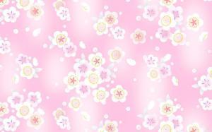 五颜六色的碎花背景图片