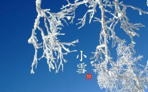 二十四节气之小雪图片高清壁纸