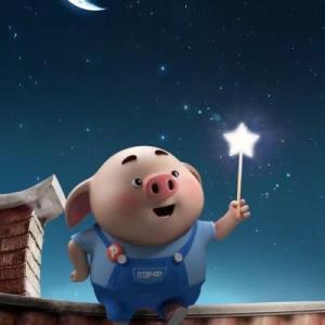 超级可爱的福猪头像图片,小猪猪给大家拜年了