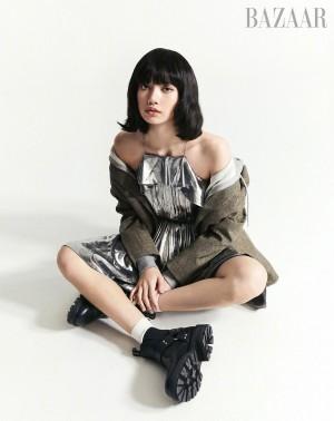 LISA复古时尚写真图片