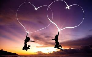 情人节爱心素材高清桌面壁纸