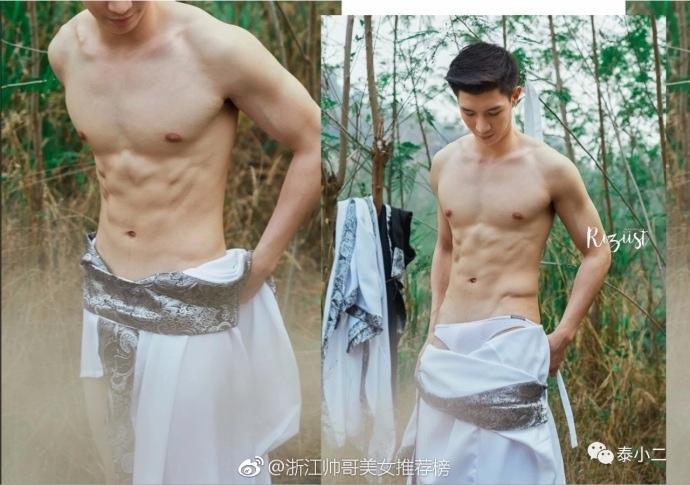 泰国Riziist杂志中国风写真 ,鲜肉男模Napapon