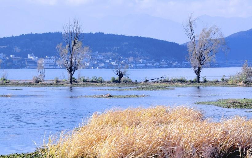 云南大理洱海风景写真