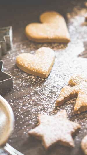 圣诞节手工饼干