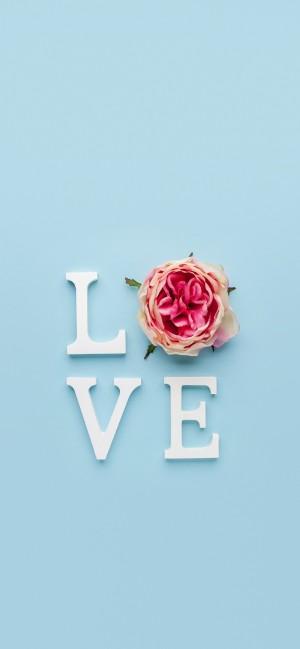 简约浪漫爱情手机壁纸