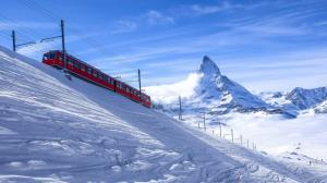 冬天自然雪景