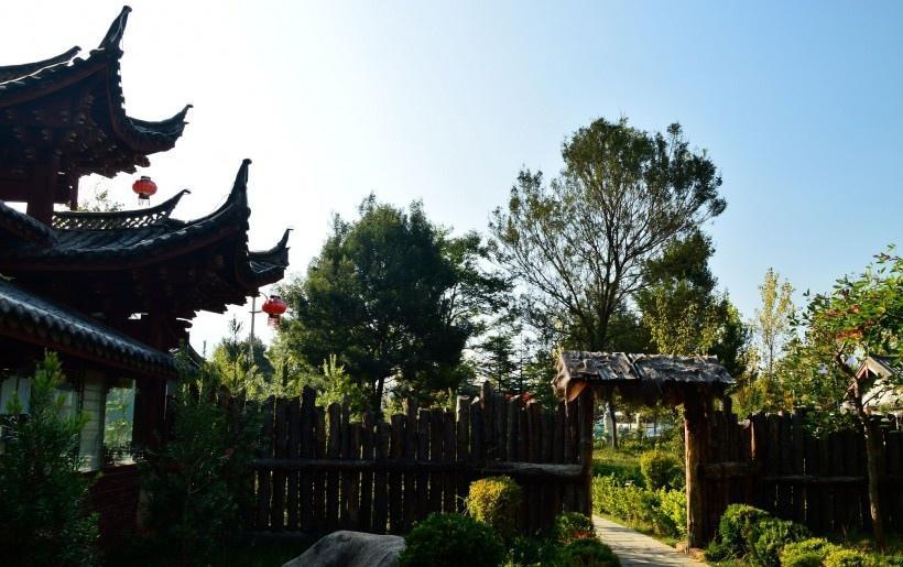 云南丽江观音峡风景写真