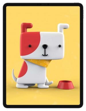 ipad系列可爱狗狗高清壁纸图片