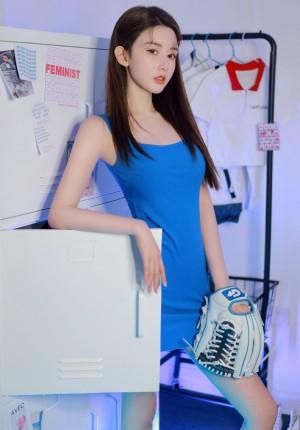 周麟嘉元气少女清新时尚写真图片