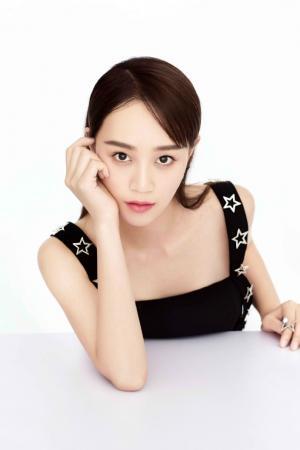 蓝盈莹酷帅时尚写真图片