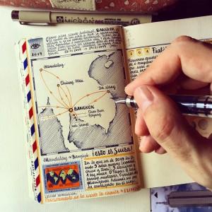 艺术家的旅行日记