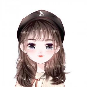 可爱Q版手绘女生头像
