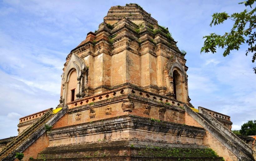 泰国清迈大塔寺图片