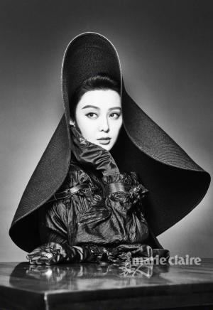 范冰冰化身巴黎女郎优雅气质复古妆容写真图片