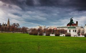 奥地利维也纳秋景图片
