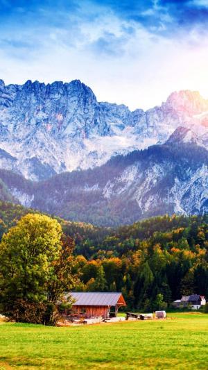 欧洲阿尔卑斯山脉