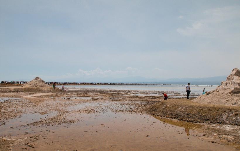 青海茶卡盐湖风景图片