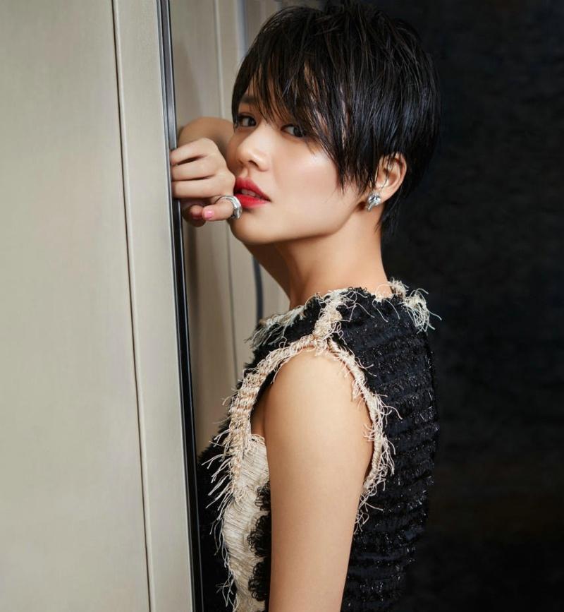 王凯马思纯时尚芭莎写真仿若情侣