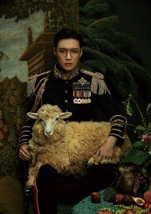 EXO成员LAY张艺兴solo专辑封面图片