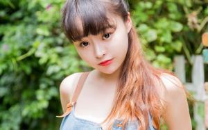 嫩模柳侑绮清新迷人写真图片