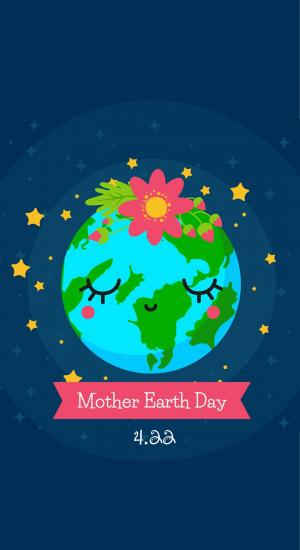Mother earth Day,世界地球日,拯救地球