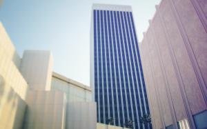 城市高楼大厦风景