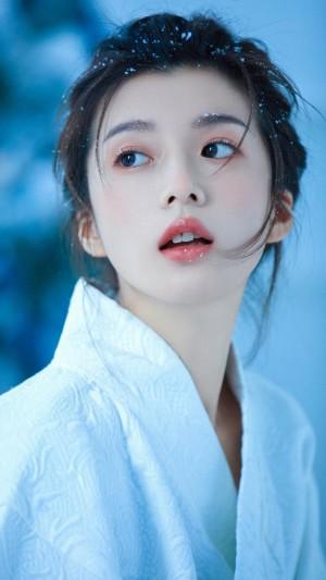 日系和服少女纯白清冷唯美写真图片
