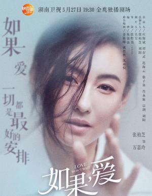 张柏芝吴建豪《如果爱》海报图片