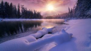 唯美冬季风景高清图片