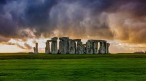 英国巨车阵4K风景壁纸