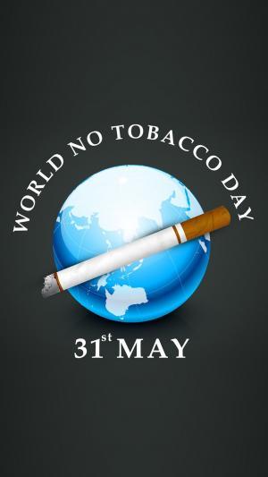 5月31日国际世界无烟日海报图片