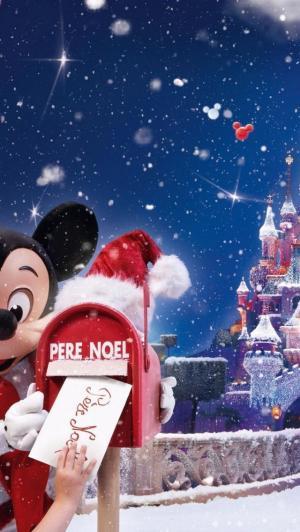 米奇的圣诞节贺卡