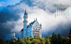 2018年12月德国新天鹅堡高清日历壁纸