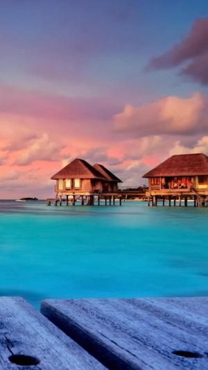 马尔代夫的梦幻度假小屋